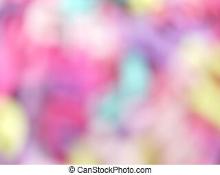 Abstract pastel blurred background focused