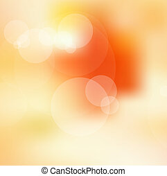 Abstract pastel defocused lights background - eps10 vector