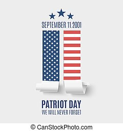 Abstract Patriot Day background. - Patriot Day background...
