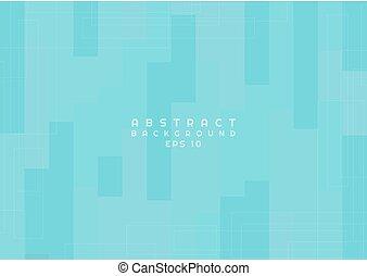 Abstract pattern art design background color blue bright line corner element