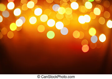 Abstract pattern from blur light on background