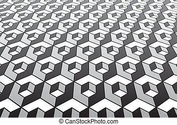 abstract, pattern., geometrisch
