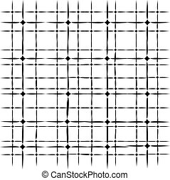 Abstract pattern isolated on white background