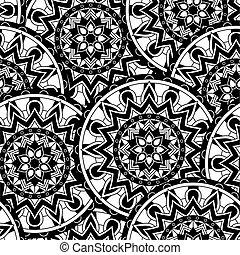 abstract pattern mandala