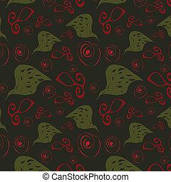 Abstract pattern on dark background