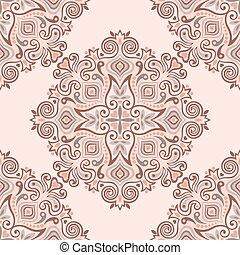 abstract, pattern., seamless, achtergrond, ethnische