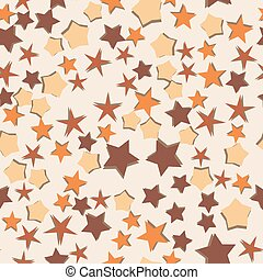 abstract, pattern., seamless, versiering, achtergrond., vector, sterretjes, design.