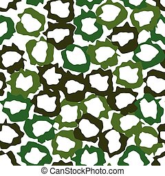 Abstract pattern with green elements.