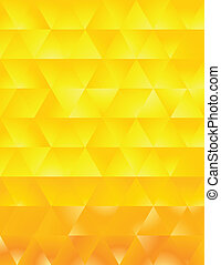 Abstract Pattern yellow background