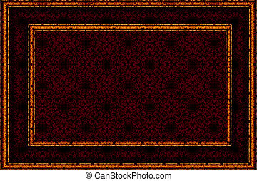 patterned burgundy background