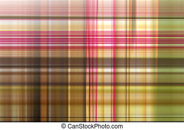 abstract patterns of plaid.