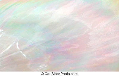 Abstract pearl background of mother of pearl oyster shell