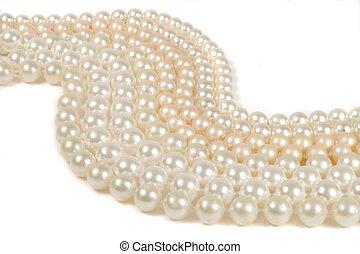 strings of pearls (horizontal)