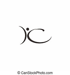 Abstract People Logo Vector