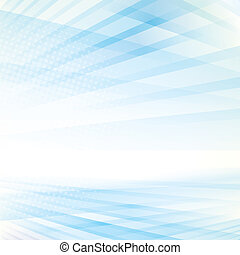 Abstract Perspective Background - Abstract smooth light blue...