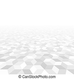 Abstract perspective background from geometric shapes