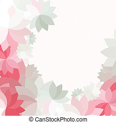 Abstract petal pink flower background