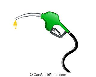 abstract petrol pump icon vector illustration