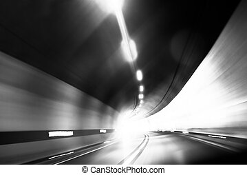 Abstract photo of motion