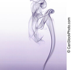 violet smoke - abstract picture showing some violet smoke in...