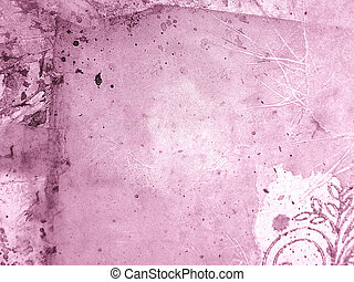 Abstract Pink Backgr