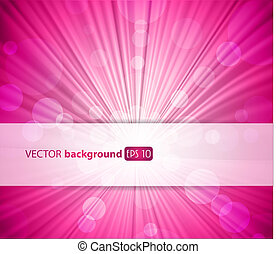 Abstract pink background with place for your text.