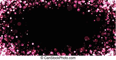 Abstract pink blurred background.