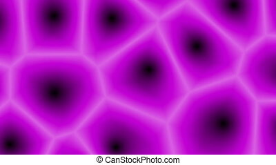 """Abstract Pink Cells Changing Forms"""
