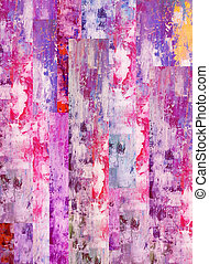 Abstract pink illustration