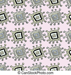 Abstract pink pattern