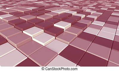 Abstract pink plates background, 3D rendering - Abstract ...