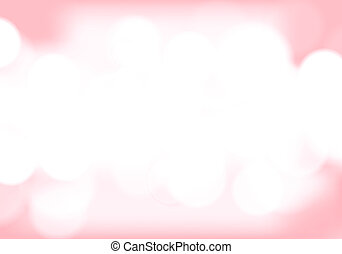 Abstract pink tone lights background. Blurred background.