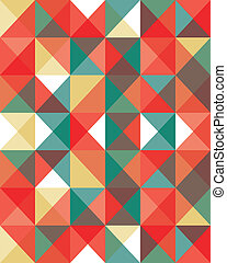Abstract Pixel Background - An illustrated vector background
