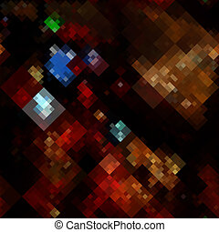 Abstract pixels