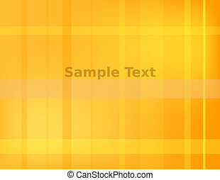 Abstract Plaid Orange Background