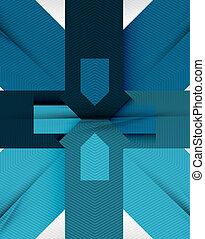 abstract, plat, geometrische vorm, achtergrond