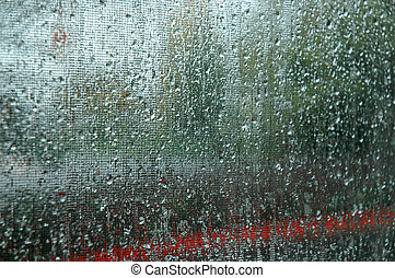 abstract., pluie