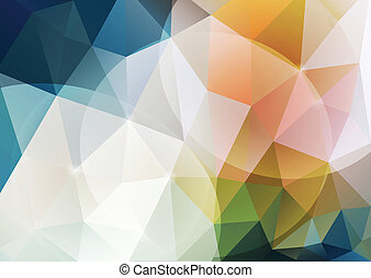 Abstract poligonal background