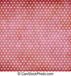 Abstract polka dot vintage background
