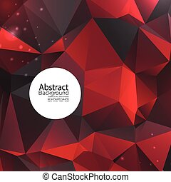 Abstract Polygon Background
