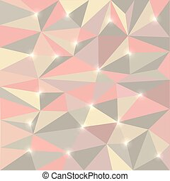 Abstract polygon background, vector