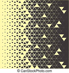 Abstract polygon triangle pattern