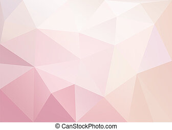 Abstract polygonal background. Vector EPS10.