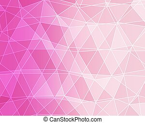 Abstract polygonal background. Vector illustration.