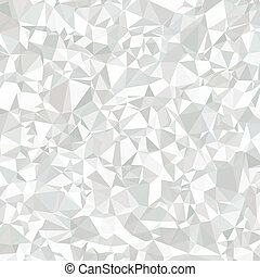 Abstract Polygonal Grey and White Background for Universal Application. Geometric Grayscale Graphic Texture of Asymmetric Triangles.