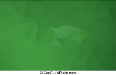 Abstract polygonal illustration, which consist of triangles....
