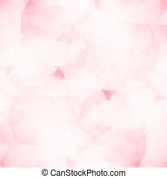 Abstract polygonal pink background