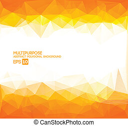 Abstract Polygonal Wallpaper (orang