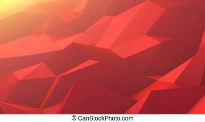 Abstract Polygons Waves Perfect Background
