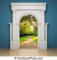 Abstract portal